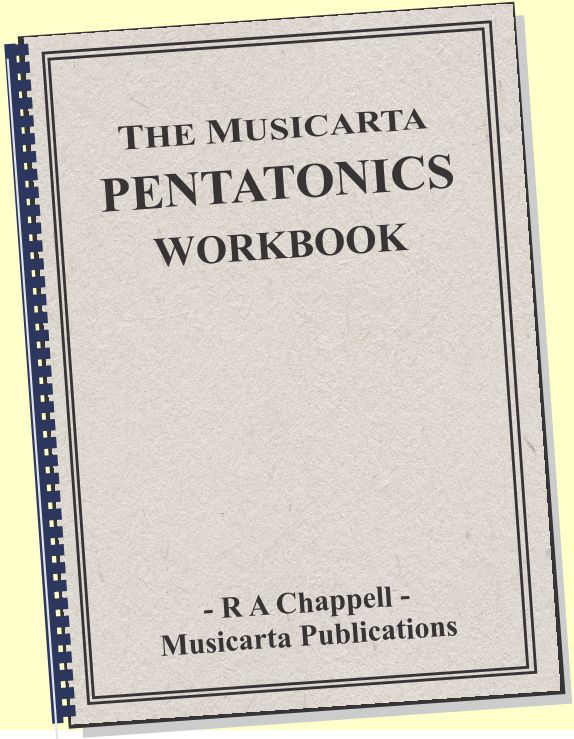 Musicarta Pentatonics Workbook cover